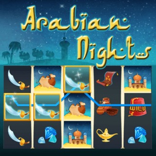 Bet Slot Arabian Nights