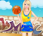 Barbie basketball player