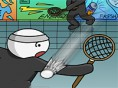 Stick Man Badminton 2