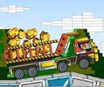Gold with Lego Truck Transport