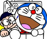 Nobita and Doraemon Coloring
