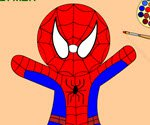 Toys Spiderman Coloring