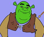 Coloring Shrek 2