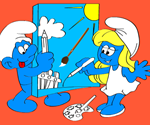 Smurfs Coloring Book