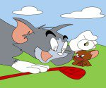 Tom ve Jerry Boya
