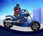 Transformers motorcycle