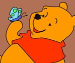 Winnie the Pooh Coloring 2