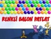 Colorful Balloons Explode