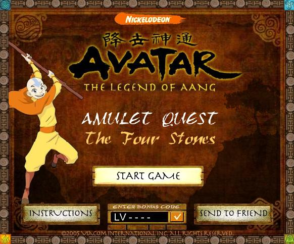 Games Avatar: The Legend of Aang