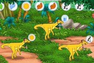 Dora and Diego Dinosaurs Care