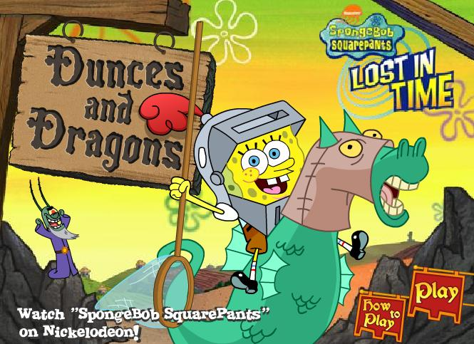 Dark Knight: SpongeBob Games