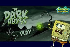 Games Sponge Bob: Great Depth